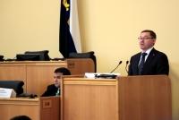 Губернатор Тюменской области отчитался перед депутатами